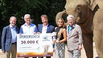 Fa. Gayko überreicht 30.000 € - Großspende