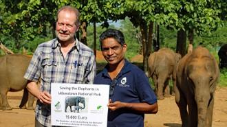 Unterstützung für Elefantenprojekt in Sri Lanka