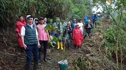 Baumpflanzung in La Elenita im Mai 2018