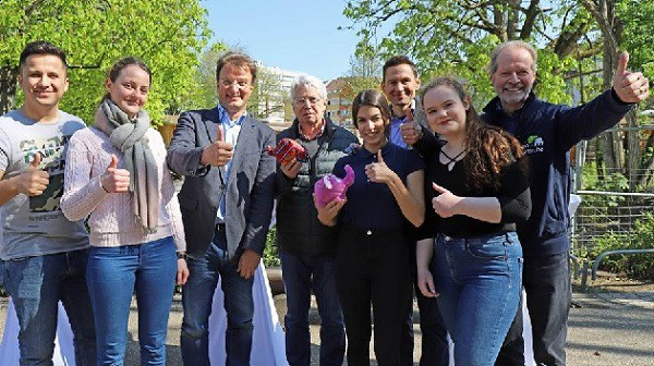 """""""Wetten, dass..?"""": Eine Wette mit den Beruflichen Schulen Achern zugunsten der Artenschutzstiftung Zoo Karlsruhe"""