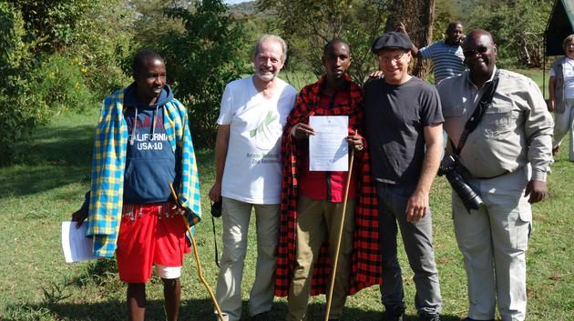 Unser Projektpartner in der Mara SIANA in Kenia