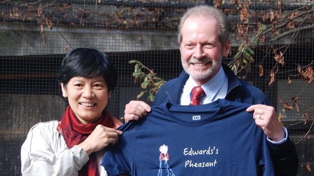 Unsere Projektpartnerin für den Edwardsfasan in Vietnam