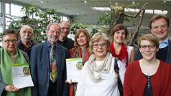 Begründung der Kooperation zwischen der Artenschutzstiftung, dem Internationalen Bund (IB)         und der Carlo Schmid Schule Karlsruhe.