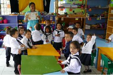Partnerschule in Mindo / Ecuador